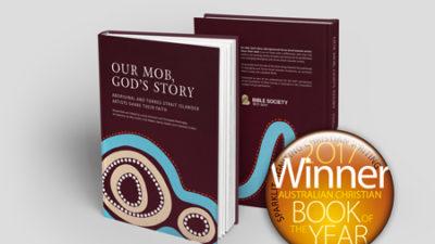 "Award winning ""Our Mob, God's Story"""