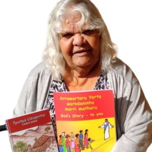 Indigenous translator, Lily Neville, is helping her Adnyamathanha people to Open The Bible